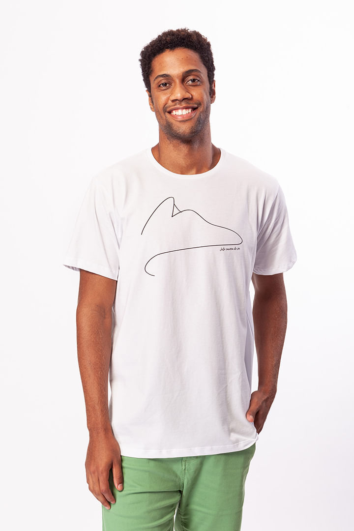 Camiseta Pão de Açúcar Minimalista