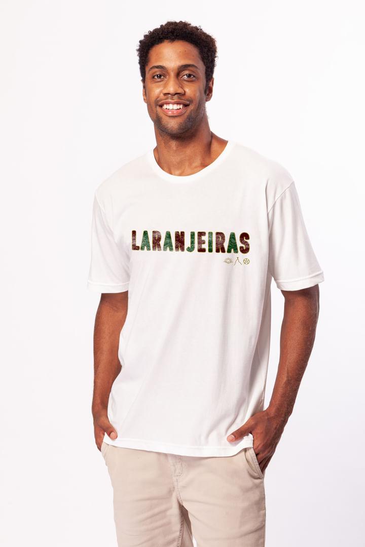Camiseta Laranjeiras Branca