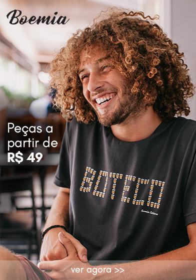 TSHIRTS DE R$59 - R$75