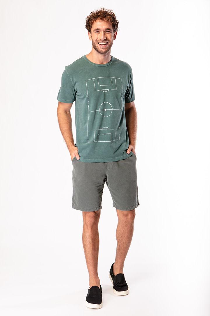 Camiseta 4 Linhas Campo