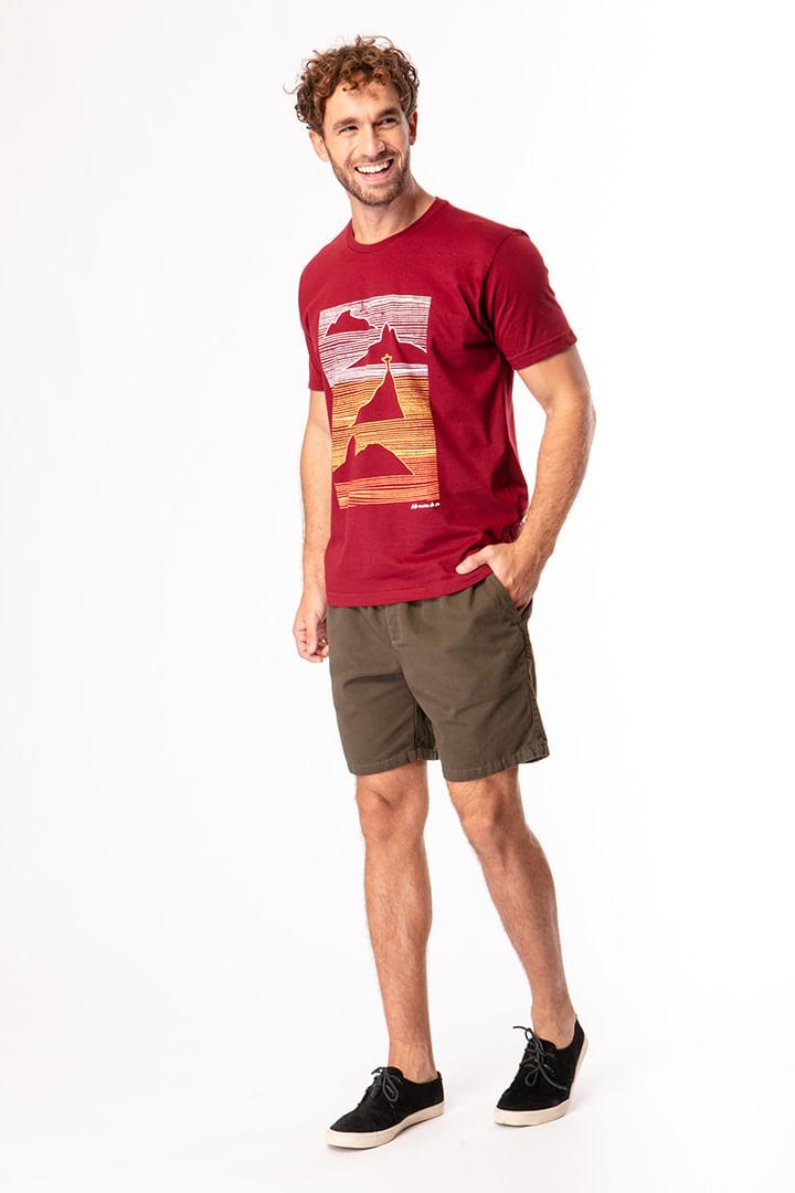 Camiseta Linhas Montanhas