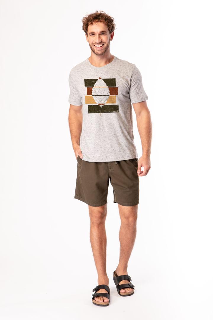 Camiseta Folha 3 Cores