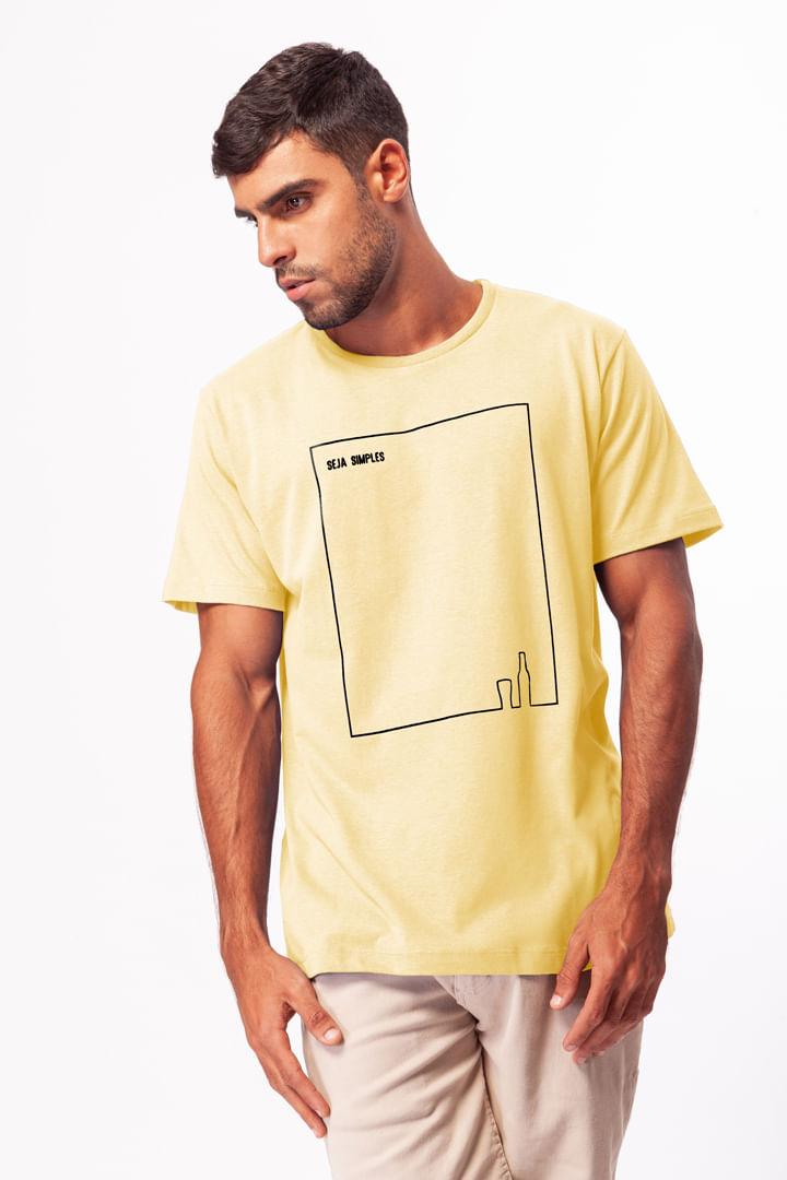 Camiseta Seja Simples Garrafa